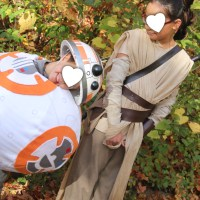 The Fun Awakens (DIY Rey and BB-8 Costumes)