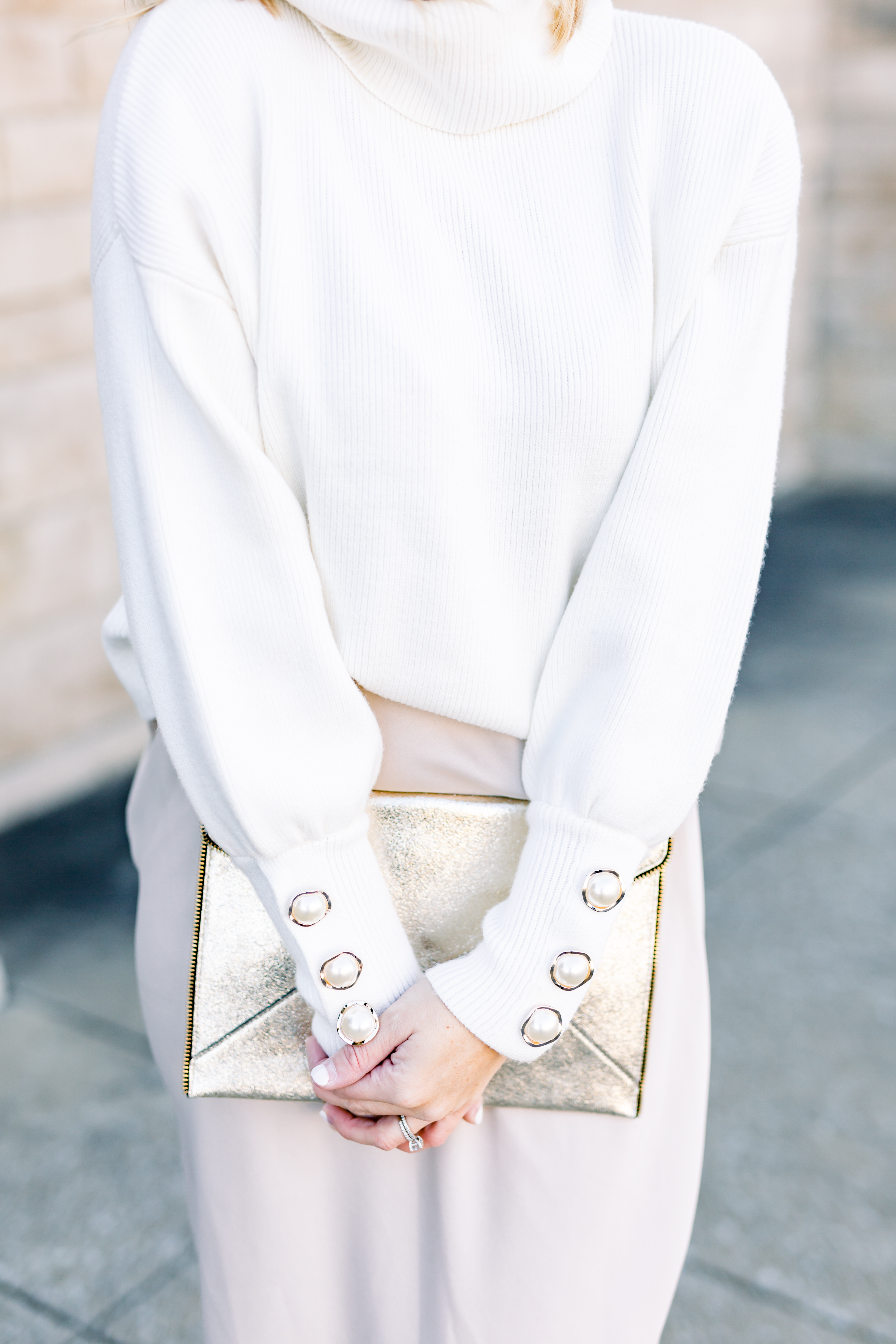 winter white outfit style
