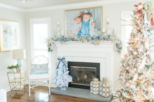Holiday Styling: Blush & Blue Edition