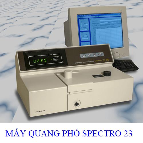 máy đo quang phổ spectro 23