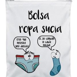 BOLSA ROPA SUCIA CREO QUE NECESITO UNA DUCHITA MAYUKI