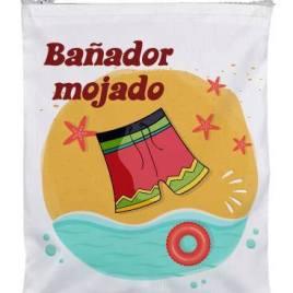 """Bolsa de viaje """"Bañador Mojado"""""""