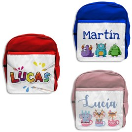 mochila infantil personalizada mayuki