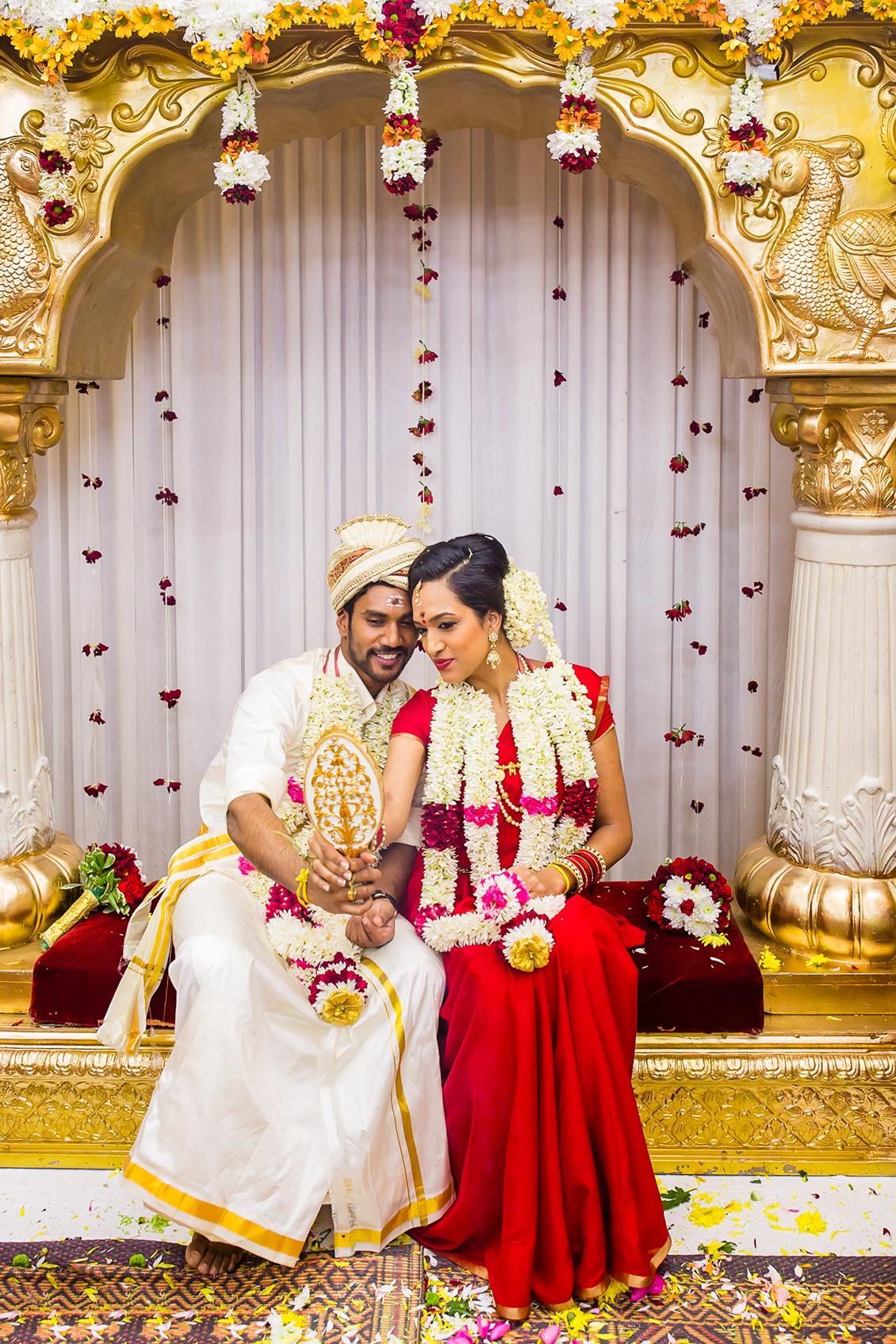 Kalai Amp Kardhika Walthamstow Temple Hindu Wedding