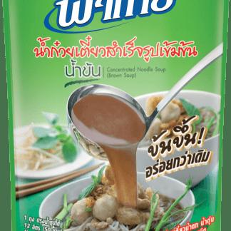 concentré pour soupe de nouille brune fathai