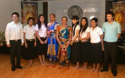 With University Students and Teachers