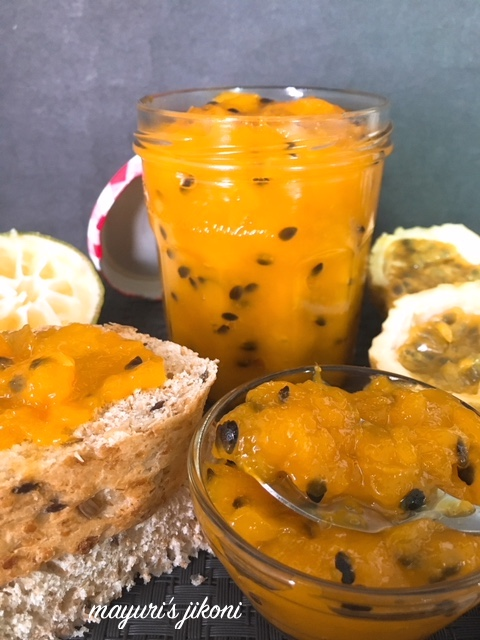 mango and passion fruit jam 4