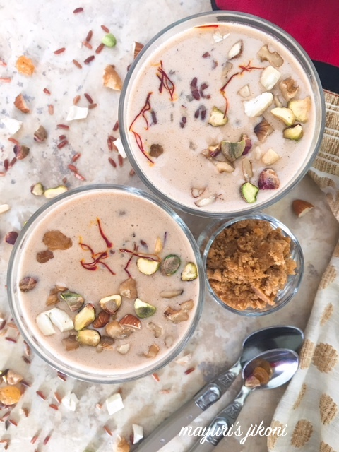 red rice kheer 1