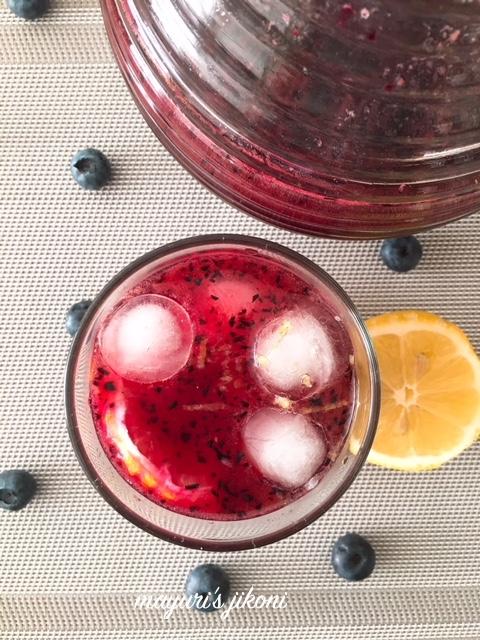 blueberry iced tea 2