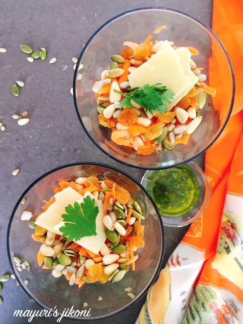 Beetroot Carrot Salad 1