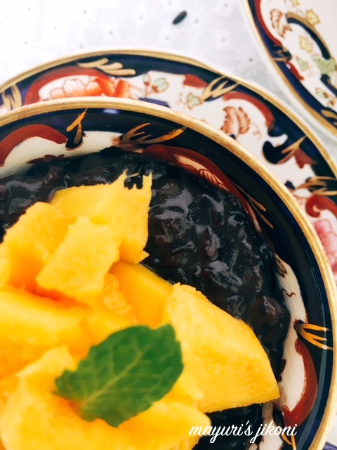 Black Rice Pudding 4