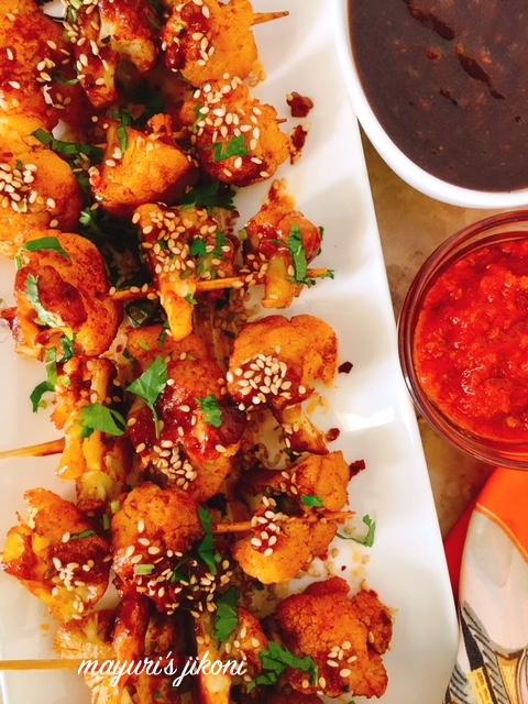 grilled cauliflower-indochinese style 4
