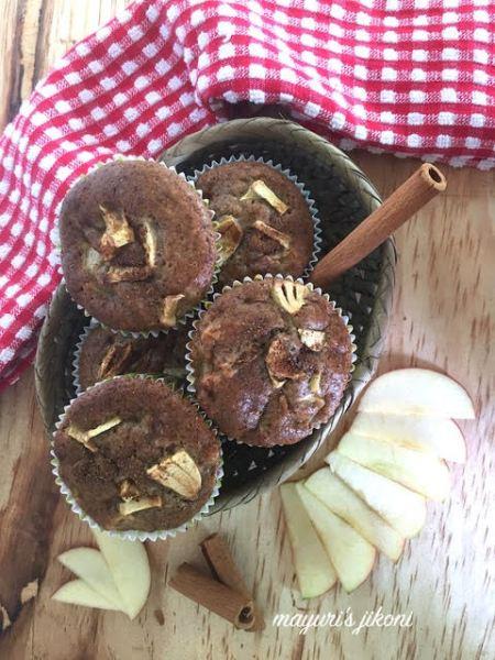 apple cinnamon muffins 1