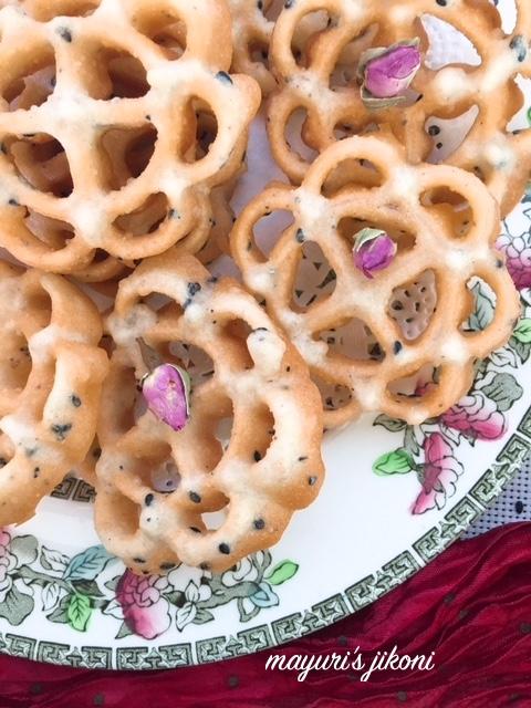 rose cookies 4