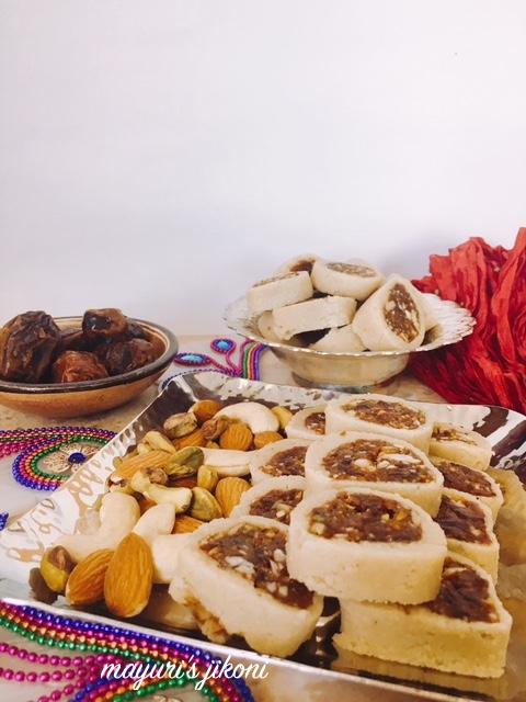 Date and Cashew Nut Barfi 2