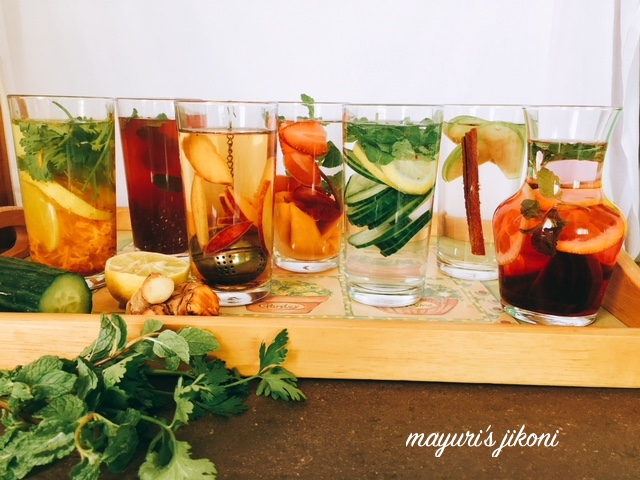 Detox Water - 7 varieties