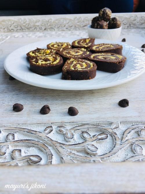 no bake chocolate swiss roll 2