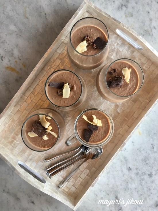 Chocolate Phirni 1