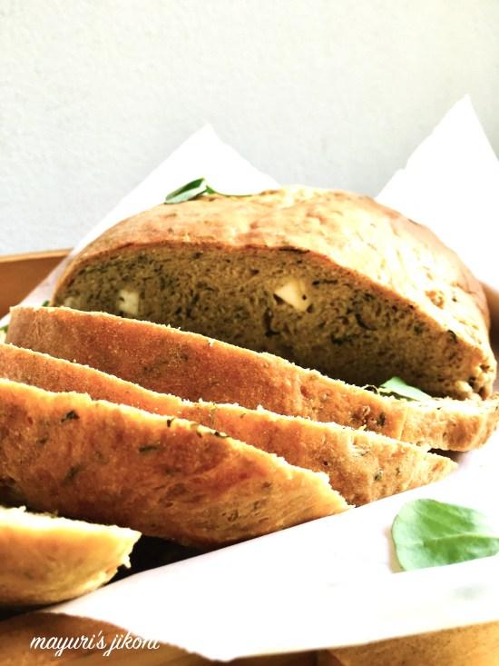methi paneer bread 2