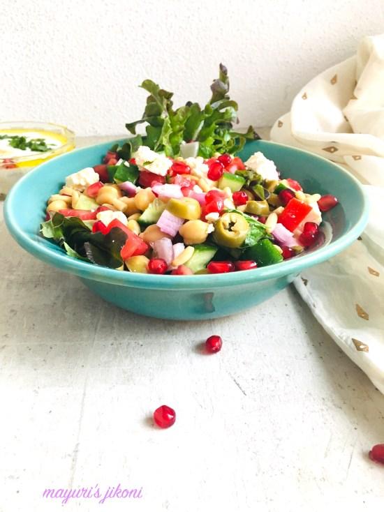 Greek Style Salad 4