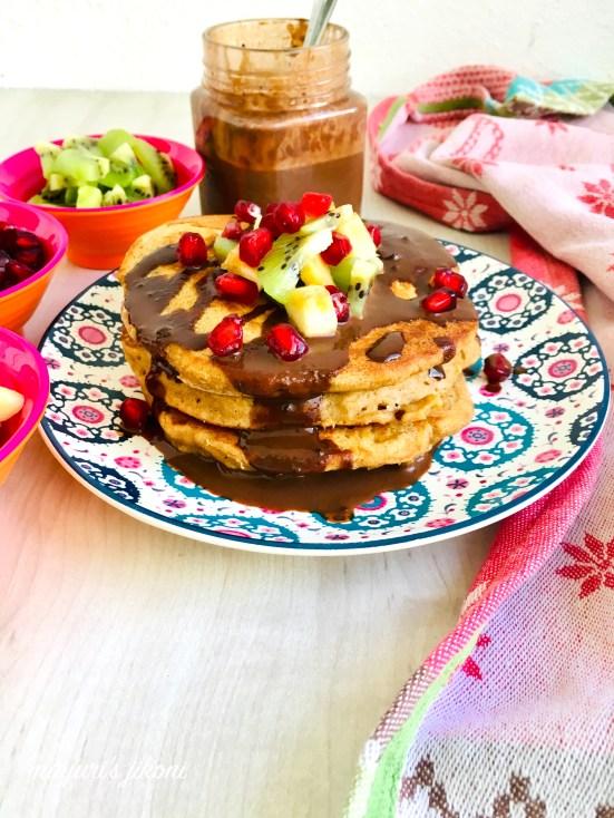 wholewheat pancakes 1