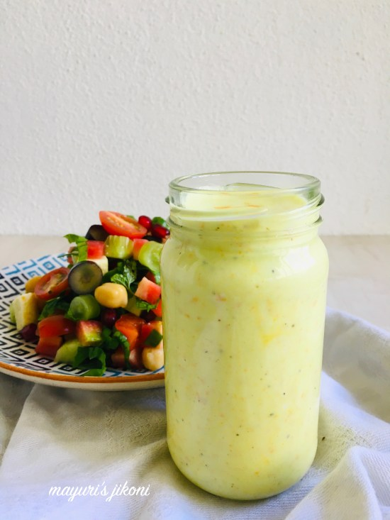 turmeric yogurt dressing 2