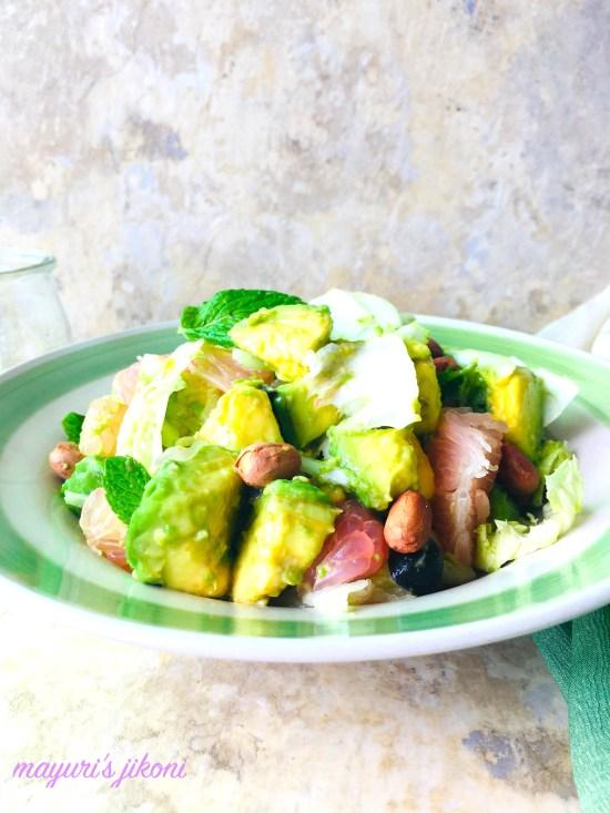 Pomelo Avocado Salad 2
