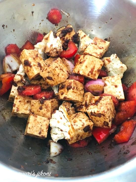 Tofu Salad 1