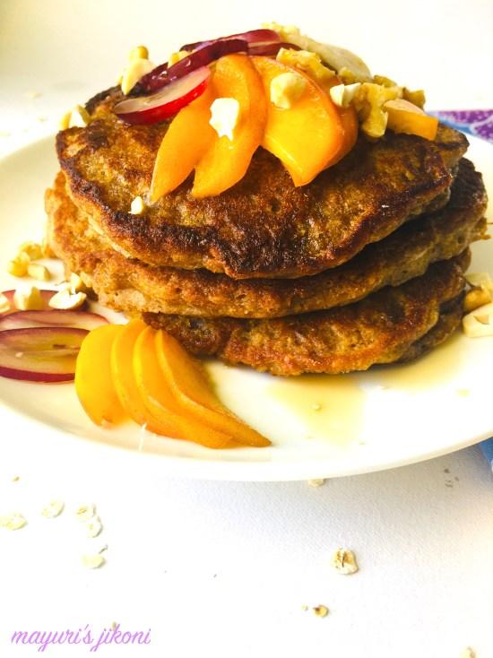 eggless pancake 5