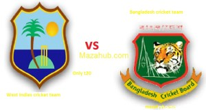 Bangladesh vs West Indies only T20