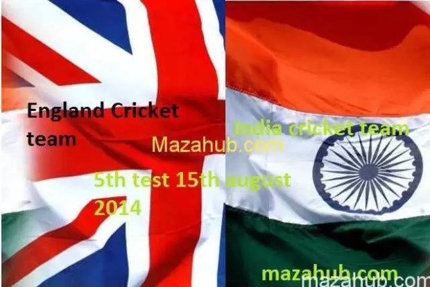 England vs India 5th Test
