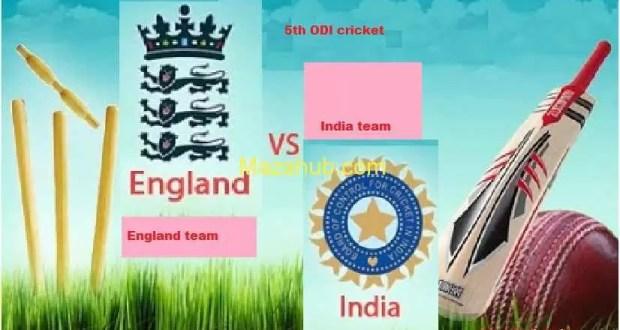 India vs England 5th ODI