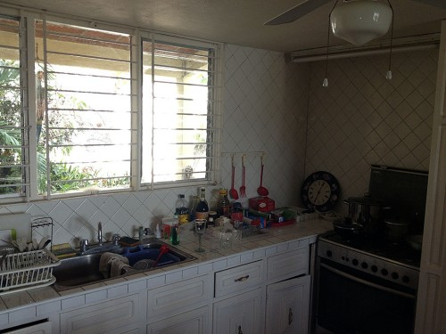 Pedre Groso kitchen before