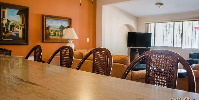 Mazatlan- 5 bedrooms in El Cid Golf Course Home-For Sale-30
