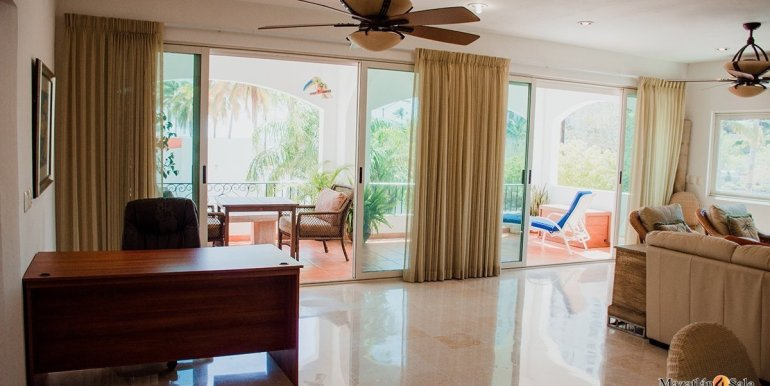Mazatlan  2 bedrooms in Beachfront Home For Sale