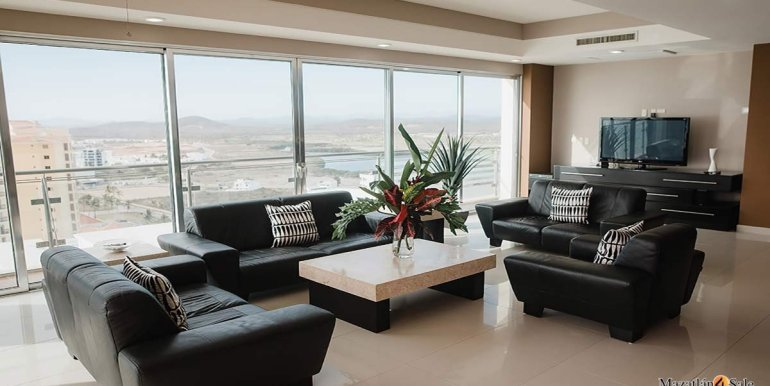 Mazatlan-2 bedrooms in Solaria-Penthouse For Sale-Mazatlan4Sale -2