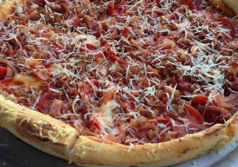 Nandos pizza