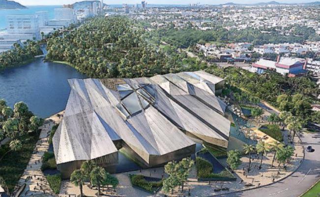 Diseño del nuevo acuario de Mazatlán
