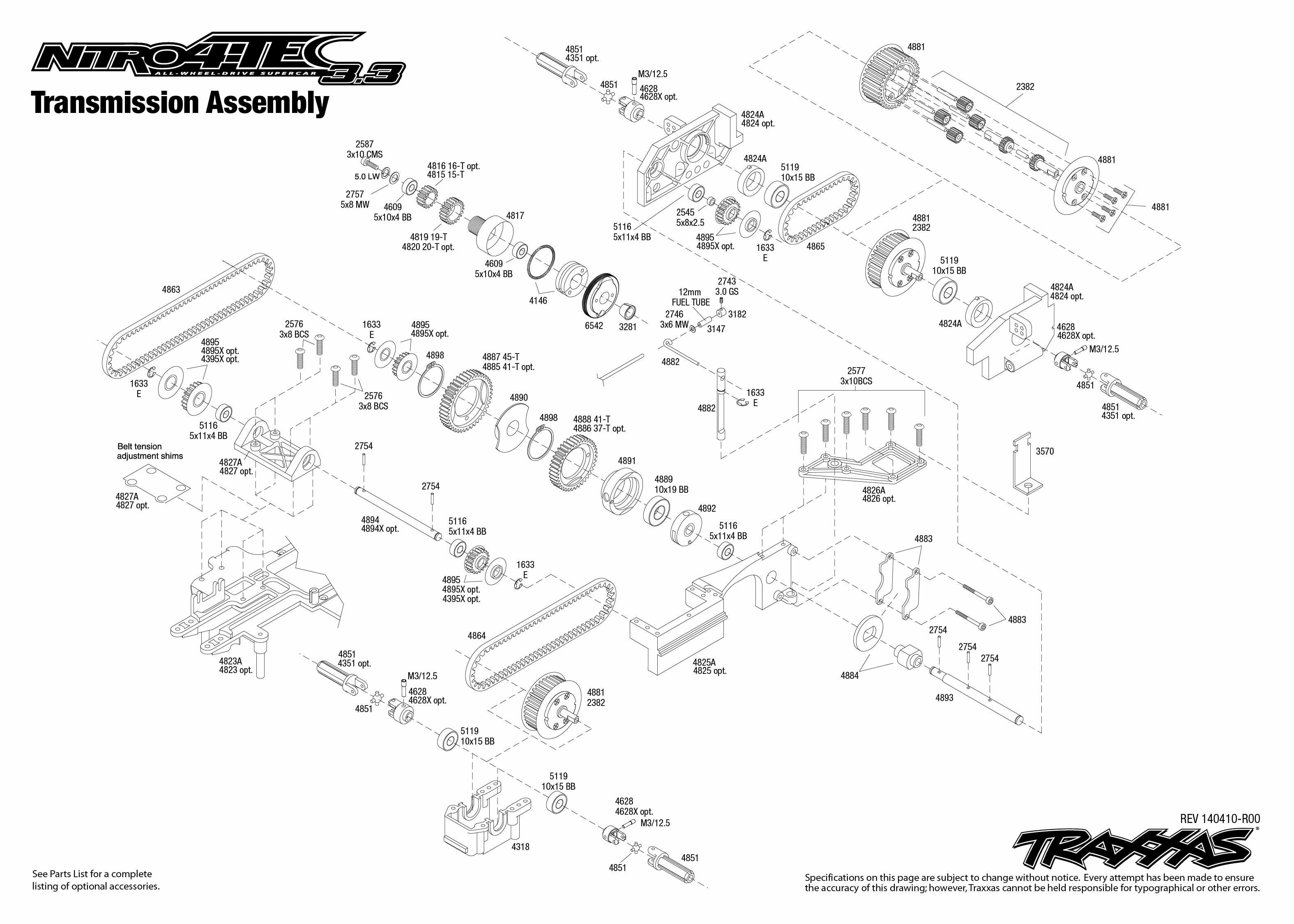 Traxxas 4 Tec Electric Manual