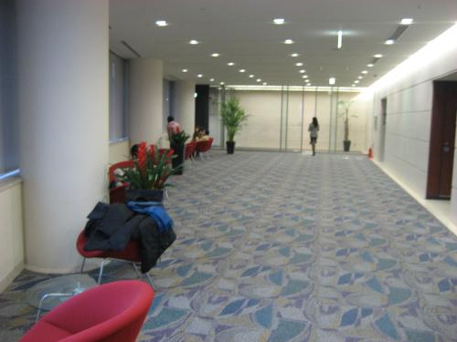 なんばサテライト教室で、大阪府立大学大学院修了式がありました