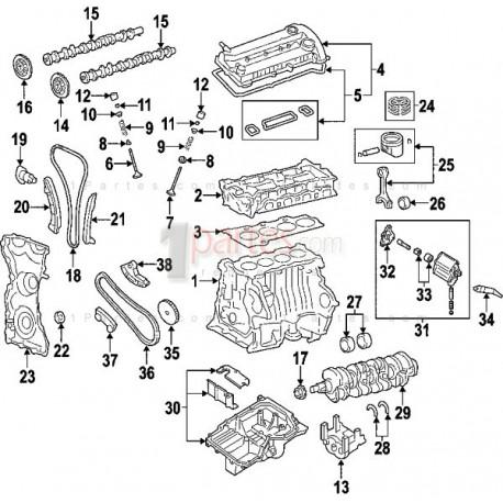Kit de cadena de distribución / tiempos|Mazda|3|6|CX-7|5