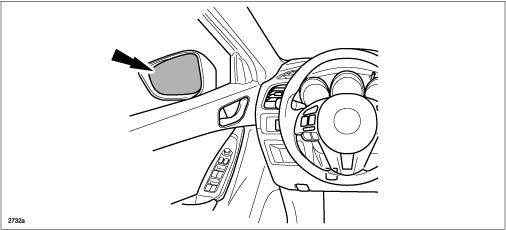 Driver-Side Power Door Mirror Vibration