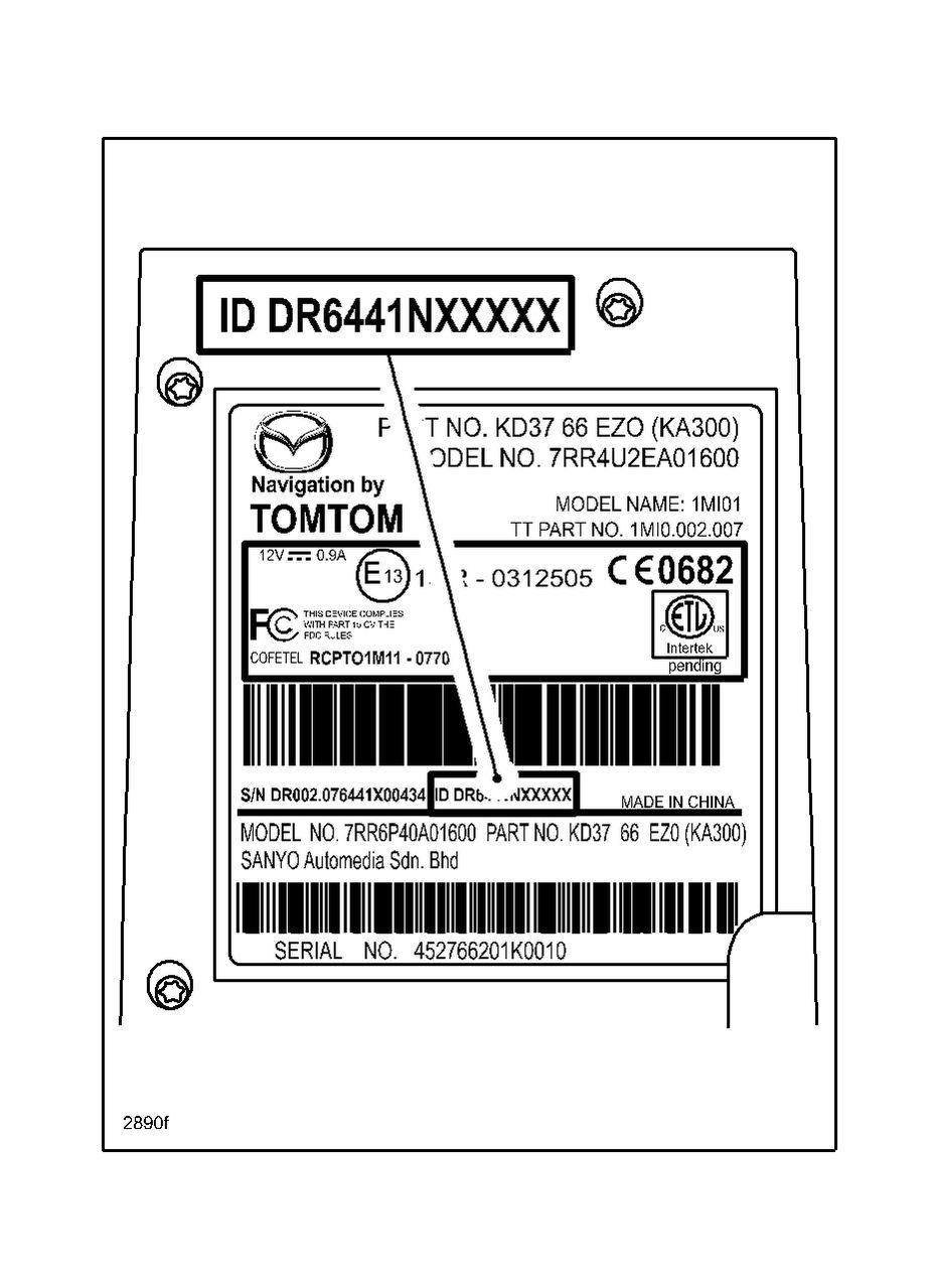 TomTom Navigation System Service Information