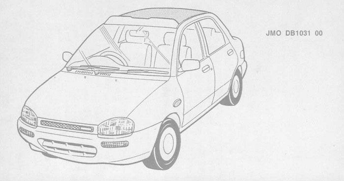 Руководство по ремонту автомобиля Mazda 121 workshop manual