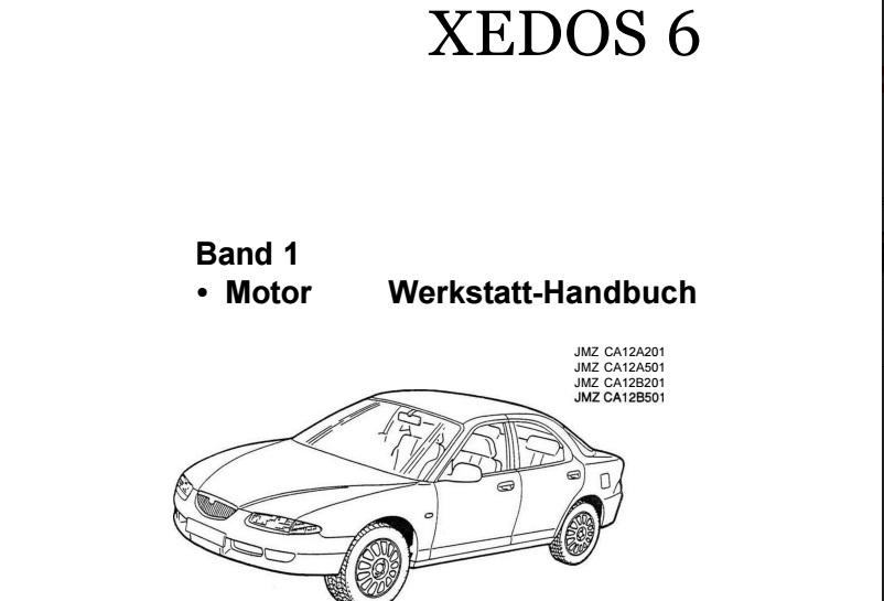 Мануал Mazda Xedos 6