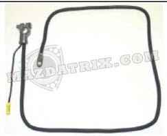 BATTERY CABLE, —NLA— 79-83 MANUAL TRANSMISSION POSITIVE