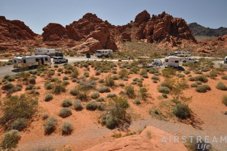 Valley of Fire campground2
