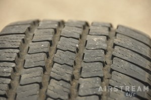 Airstream Michelin tire wear 2013-1