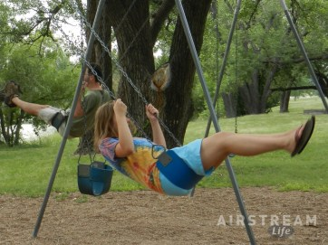 Lake Meade KS swing