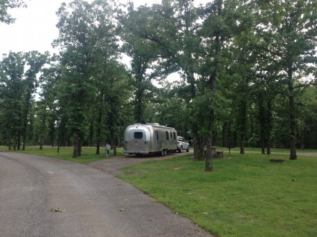 Airstream at Natural Falls SP OK